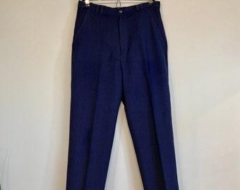 Blue Pinstripe Trouser 31W