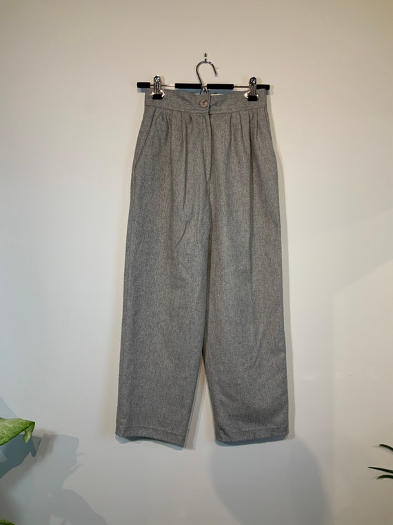 Lines Wool Trousers 26W
