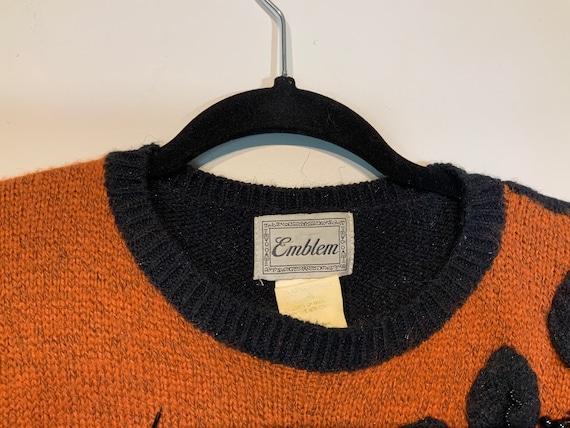 Puff Sleeve Beaded Sweater - image 8