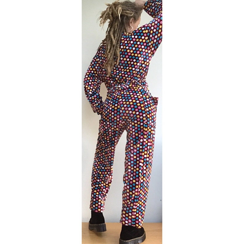 78633ffa623 Brand new and handmade vintage inspired jumpsuit boiler suit