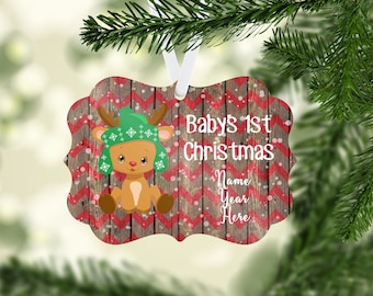 Christmas Ornaments Personalized, Personalized Ornaments, Personalized Christmas Gift, Christmas Tree Decor, Baby's First Christmas