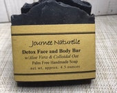 PRE-SALE Acne Face and Body Soap, Natural BHA, Activated Charcoal, Acne Prone Skin, Teenage Acne