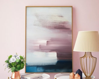 Abstract Painting, Abstract Art, Painting Print, Modern Art, Abstract  Print, Wife Gift, Girls Room Decor, Kids Room Decor, Modern Painting