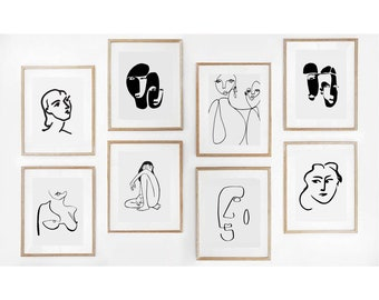 printable wall art etsy