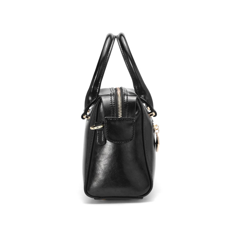 174b8f4e5fbad C iel Ariel black vintage leather tote bag