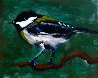 A Bird Handmade Painting