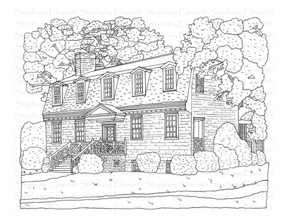 USA-Printables: Early American Life Coloring Pages - Early America ... | 440x570