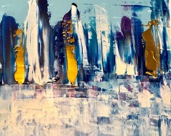 Joy Series, Original Abstract Painting