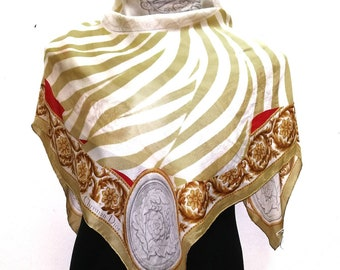 FreePost Beautiful scarf satin S010 34 x 34