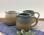 Pottery Coffee Creamer, Milk Jar, Small Jug, wheel thrown, Maple syrup Jar, Coffee Lovers, Tea Lovers, House Warming Gift, Holiday Gift