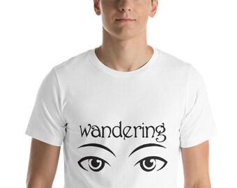 wandering , eyes