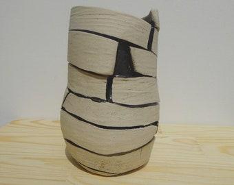 Ceramic Vase Handmade, Flower Vase, Organic form / Handmade Vase