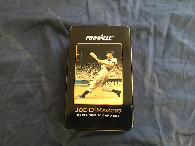 Pinnacle Limited Edition Joe DiMaggio Card Set