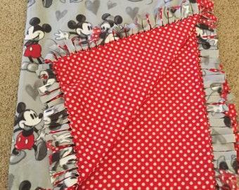 Mickey & Minnie fleece blanket