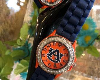 Auburn Tigers University wrist watch