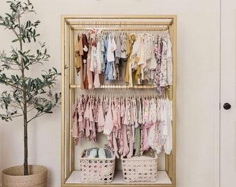 Children's closet wardrobe