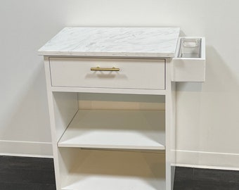 Nightstand side counter