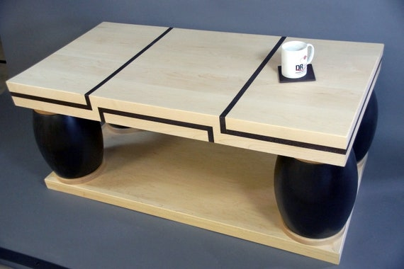 low cost 62cd2 9370c Replica Of Coffee Table From Frasier | TV Set Replica Furniture | Frasier  Sitcom | Frasier's Living Room | Modern Design From Maple & Poplar