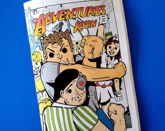 The Complete Adventures of Ryan - a 60 pg limited edition comic zine that collects classic cartoon strips from 2002-06's Ryan Fan Club zines