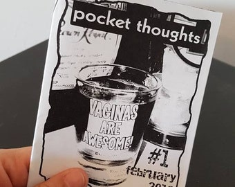 Pocket Thoughts #1 Zine