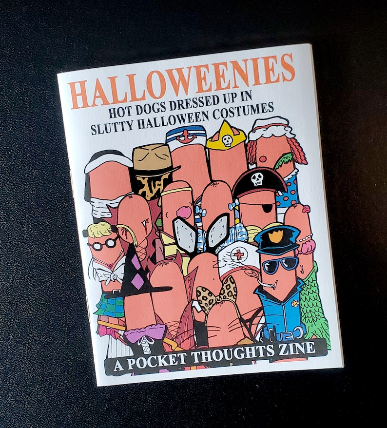 Halloweenies  a full color Halloween zine with cute comic image 0