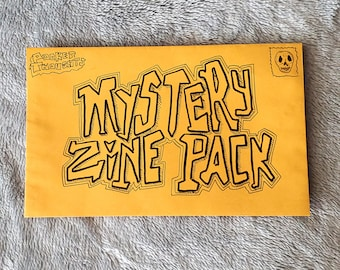 Mystery Zine Pack - 5 random zines by Pocket Thoughts to help get your collection started!