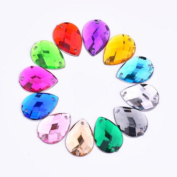 813mm 1014mm 1318mm 1825mm Sewing Acrylic Drop Mix Color  1fd9f9f3a3de