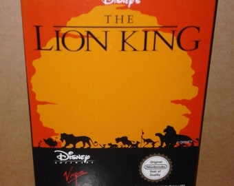 The Lion King (NES) (Repro Box)