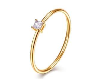 18k gold ring | Etsy