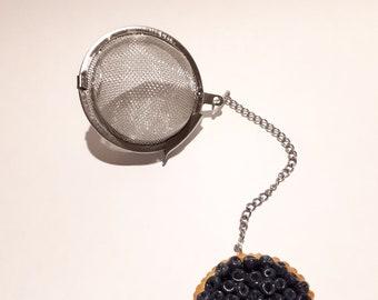 Tea, Blueberry Pie ball