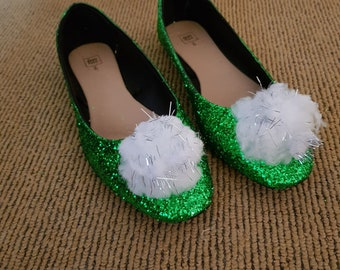 Tinkerbell inspired flats