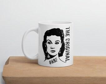 Scarlett O'Hara - RBF - White glossy mug