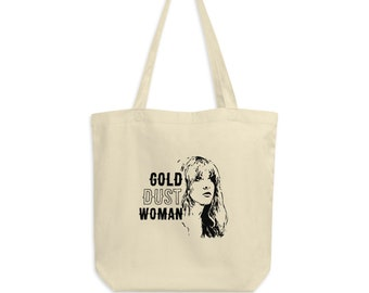 Gold Dust Woman - Stevie Nicks - Eco Tote Bag