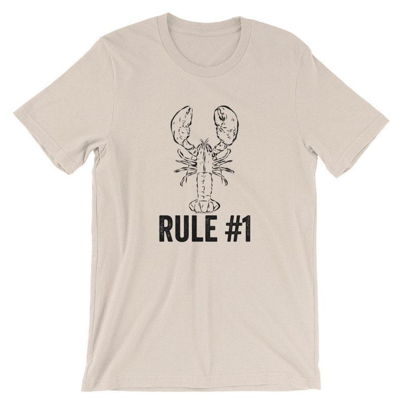 77b84533c53bdd Jordan Peterson Lobster Rule 1 Short-Sleeve Unisex T-Shirt