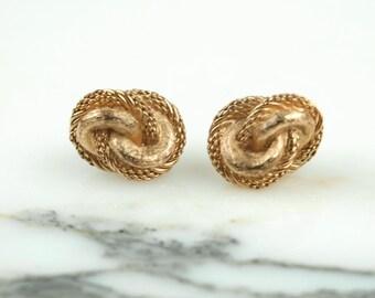 Vintage Dior clip on earrings