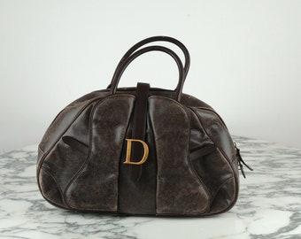 Dior double saddle bag
