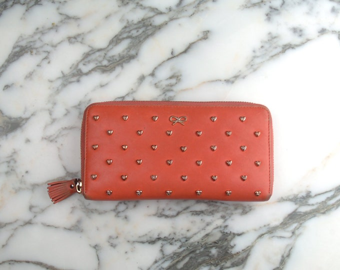 Anya Hindmarch Orange Wallet