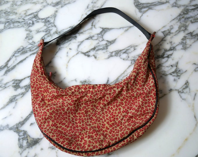 Vintage Red Leopard Bottega Veneta Handbag