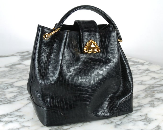 Vintage Ungaro Bucket Handbag