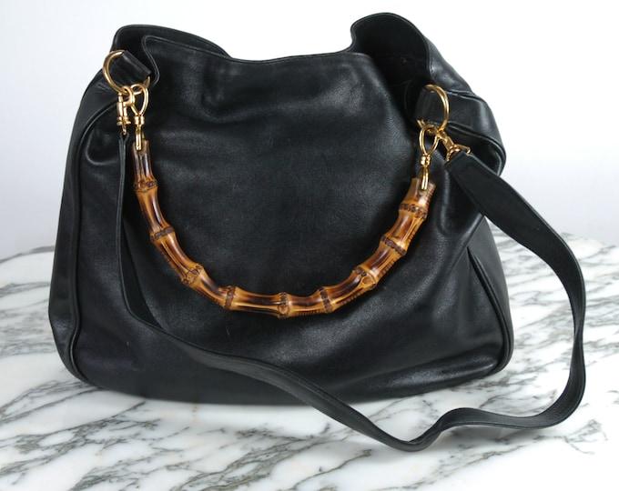 Vintage Gucci Bamboo Handbag