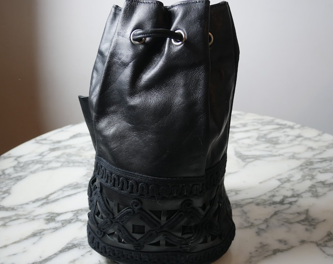 Jean Paul Gaulthier Leather Backpack