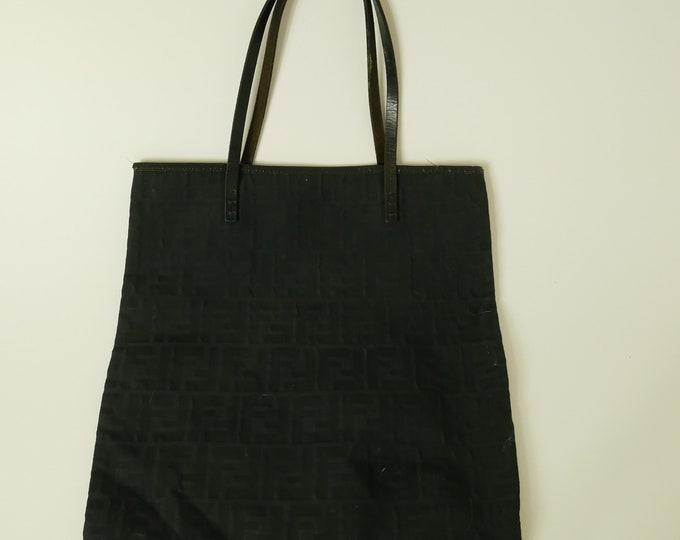 Vintage Fendi Logo Handbag