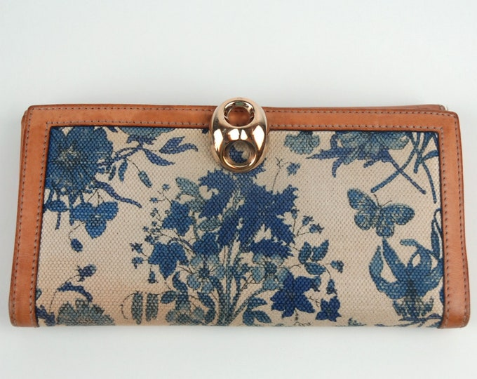 Vintage Gucci Flora Floral Wallet