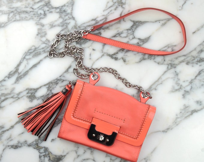 Diane von Furstenberg Orange Shoulder Bag