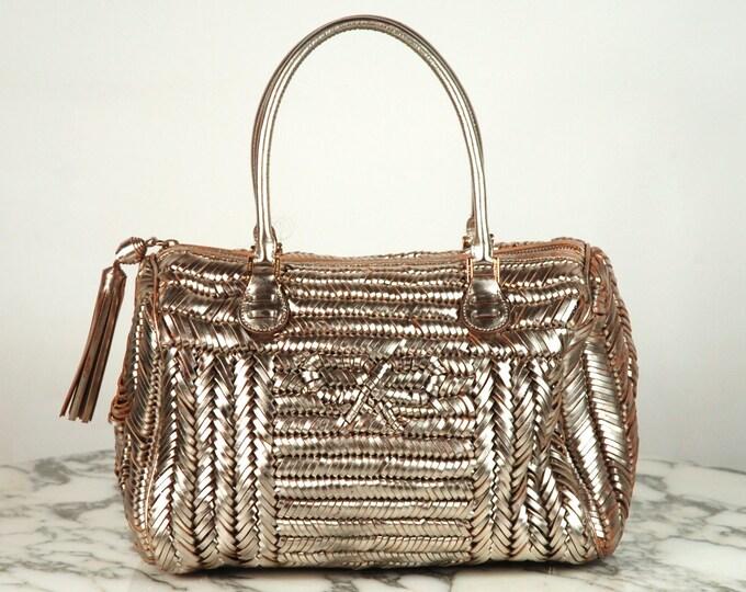 Anya Hindmarch Silver Handbag