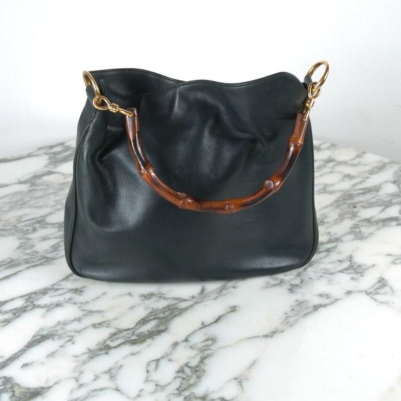 b7aa39cd9d8 Vintage Gucci Bamboo Handbag