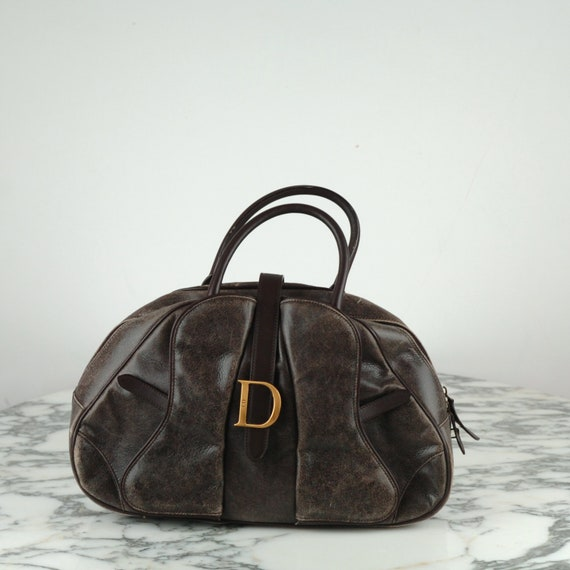 Dior double saddle bag