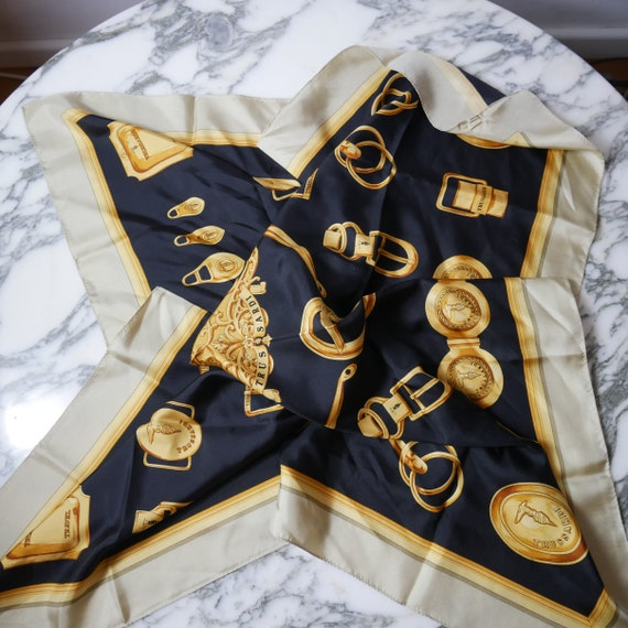 Vintage Trussardi Silk Scarf