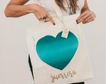 Bag of fabric HEART OF WARRIOR