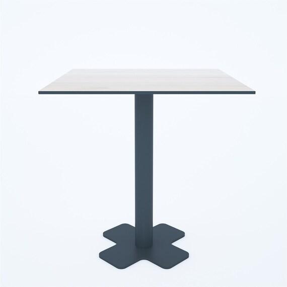 Metal Table Legs Cafe Table Legs Meeting Table Base Meeting Etsy - Cafe table legs
